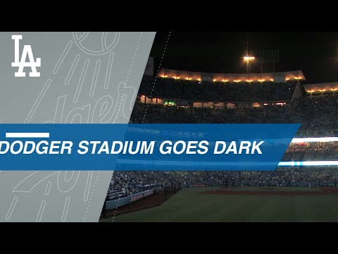 Power Outage at Dodger Stadium