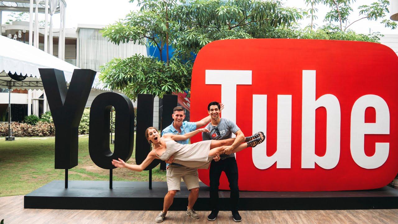 YOUTUBE CREATORFEST MANILA (HOTTEST YTBRS)