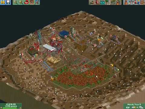 All My Beaten Parks in Roller Coaster Tycoon! |