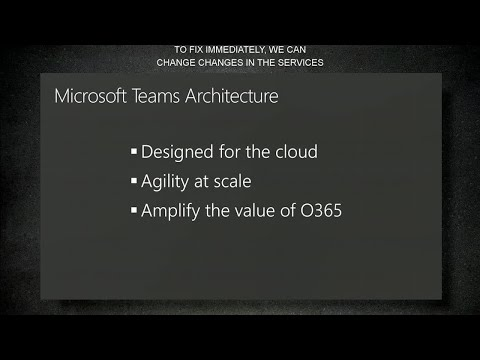 Get an overview of Microsoft Teams architecture - BRK3071