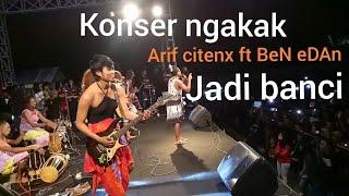 Download Dagelan konser Arif Citeng jadi banci bareng ben edan (Banyolan)