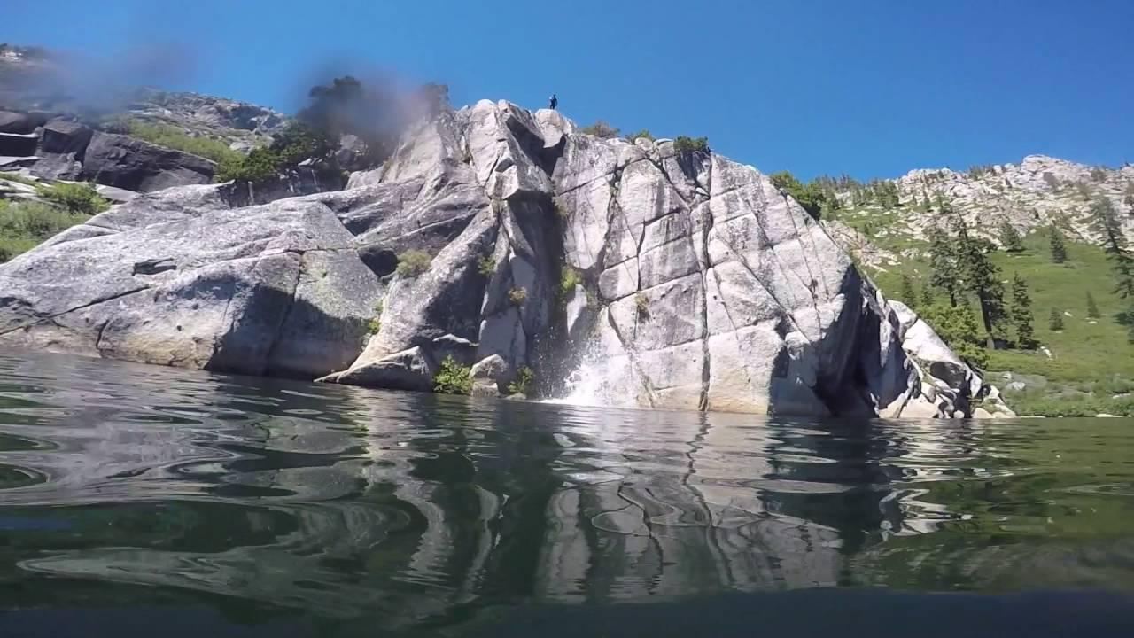Angora Lakes Cliff Jumping 2016 - YouTube