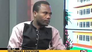 Secondary Education AM Talk on Joy News 18 9 15