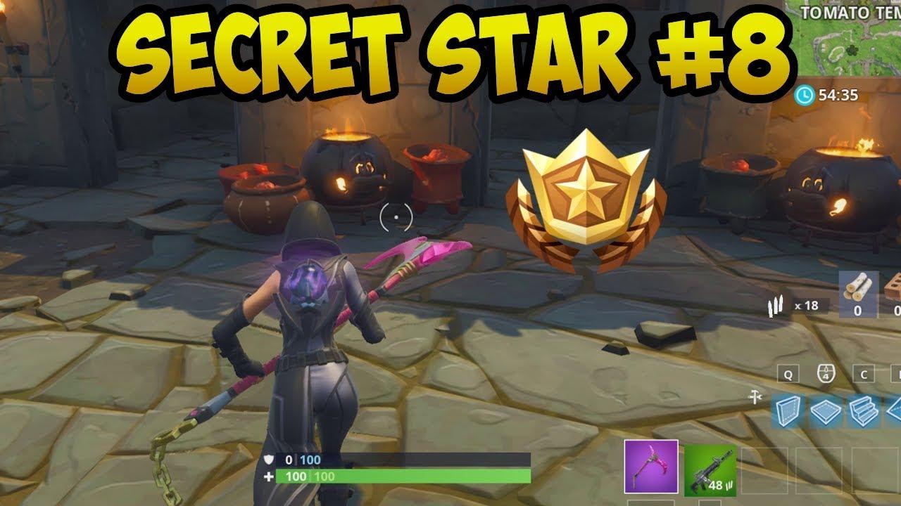 Week 8 Secret Battle Star Location Fortnite Secret Banner