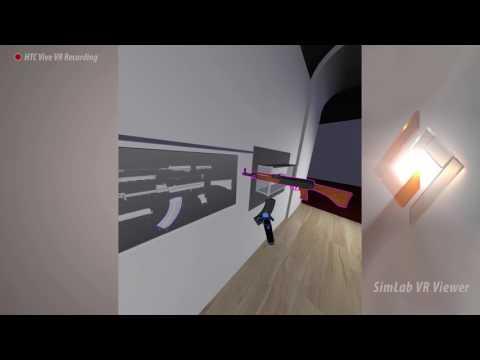 SimLab VR Assembly tutorial