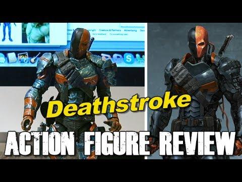 Figure Review - Arkham Origins Deathstroke