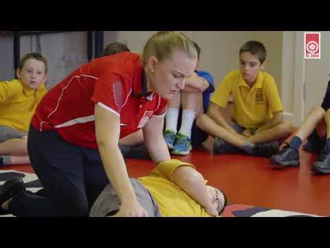 St John Ambulance First Aid in Schools Program