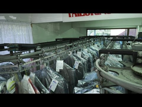 Safer Alternatives for Dry Cleaners