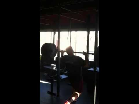 265lbs Strict press (personal record: Jan/2012)