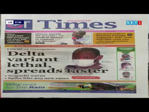 NEWSPAPER REVIEW WITH ABENA NYARKO (JULY 26, 2021)