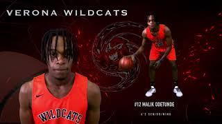 #VeronaWildcats Varsity Boys Basketball Team Line Up 2019-2020