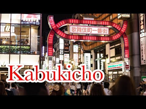 The Most Dangerous Area in Tokyo - Kabukicho