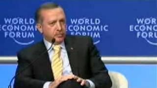 Erdogan Confronts Peres at the World Economic Forum