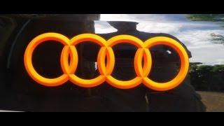 How to Plasti Dip - Blaze Orange - Neon Orange - Audi A6 + Emblem und Schriftzug
