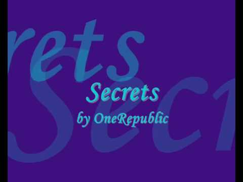 Secrets - OneRepublic + lyrics