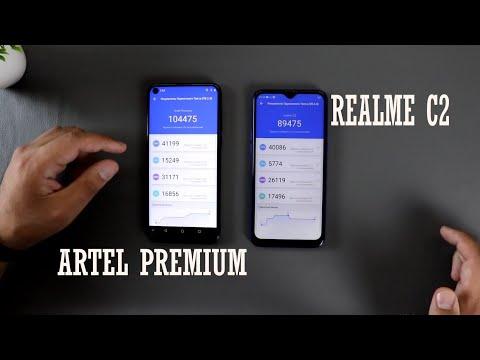 Artel Premium va Realme C2, Kamera Tezlik Audio TEST, 120-230$ lik smartfonlar jangi