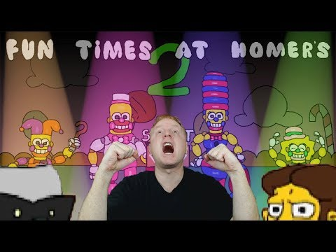 NEW SECRET CHARACTER EASTER EGGS + 3 NEW CUSTOM NIGHTS | FUN TIMES AT HOMER'S 2 | LATEST UPDATE