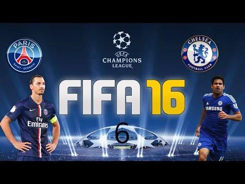 ligue des champions fifa16: chelsea foot club paris st germain