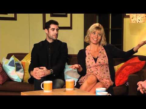 Hwb — Cyfweliad Robert Pugh & Lucie Jones Interview (13/05/12)