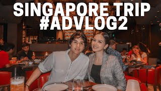 SINGAPORE TRIP #ADVLOG2 - Almost missed our flight!? 😱