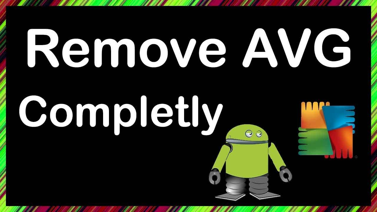 How to completely remove avg