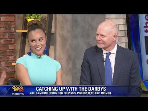 Real Housewives of Potomac's Ashley Darby and Michael Darby discuss pregnancy