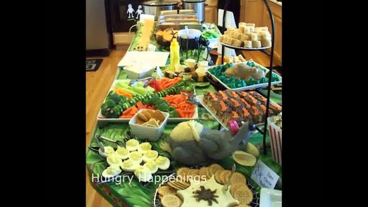 Halloween d coration de nourriture f te youtube - Decoration fete de fiancaille ...