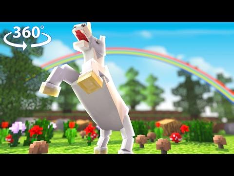 Flying Unicorns! - Asleep 2 - Minecraft 360°Video - Pt.1