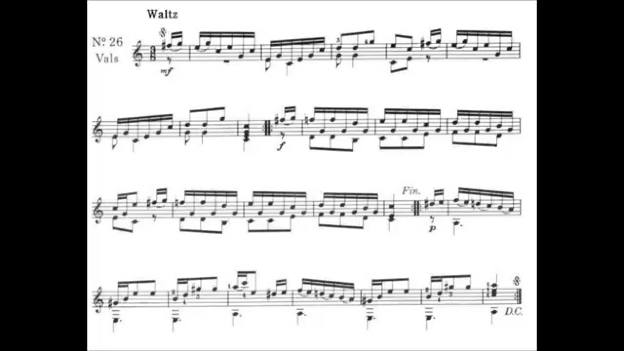 the complete carcassi guitar method pdf