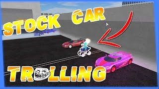 Stock Car TROLLING! (Hilarious) Fahrzeugsimulator! Roblox!