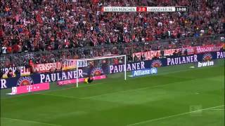 Video Gol Pertandingan Hannover 96 vs FC Bayern Munchen