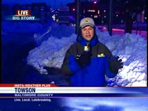 John Sherman Reports On Towson Conditions