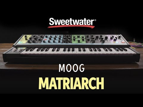 moog-matriarch-semi-modular-analog-synthesizer-demo-by-daniel-fisher