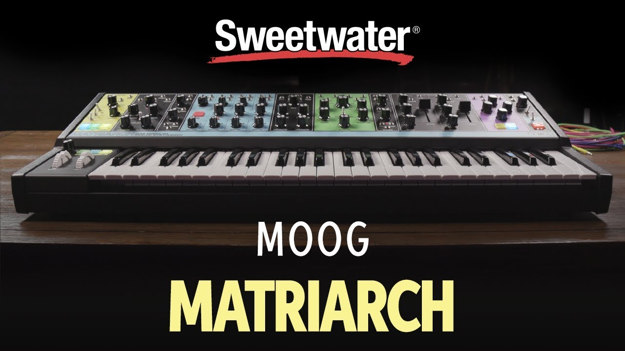 moog matriarch semi modular analog synthesizer demo by daniel fisher youtube. Black Bedroom Furniture Sets. Home Design Ideas
