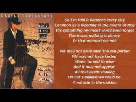 Daryle Singletary Song Lyrics | MetroLyrics