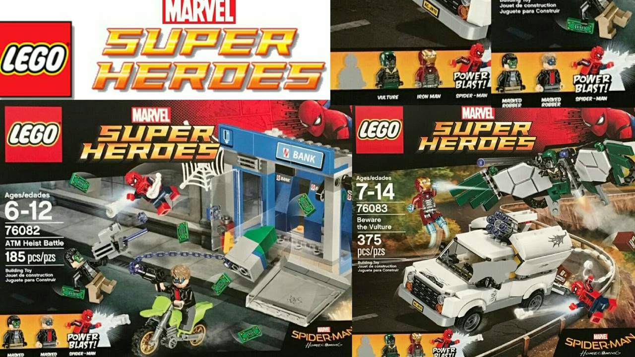 2017 Lego Marvel Super Heroes Spider-Man: Homecoming ...