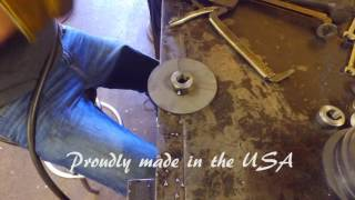 Go-Kart Brake Disc Made in the USA