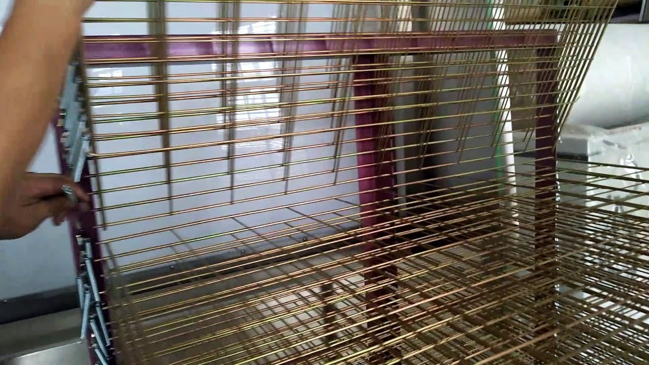 screen printing drying racks screen trolley racks storage racks assembly episode 2