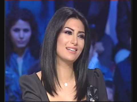 Rouwaida Attieh / رويدا عطية  promotion ,,Talk of The Town,, on MTV