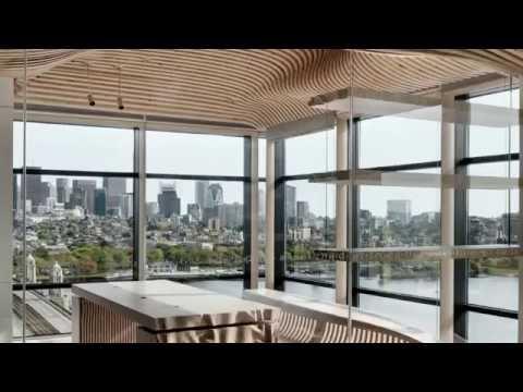 One Main Boston Kerto-Q LVL panels for wooden interior design