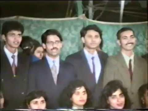 NED University, Karachi; 1987-88 Batch (Computer & Electrical)- Farewell: December 06, 1992.