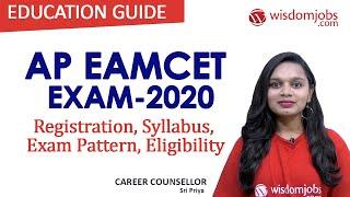 AP EAMCET Exam 2020 | EAMCET - Date, Notification, Weightage, Eligibility, Syllabus @Wisdom Jobs