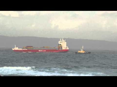 Container Ship WEC VAN EYCK