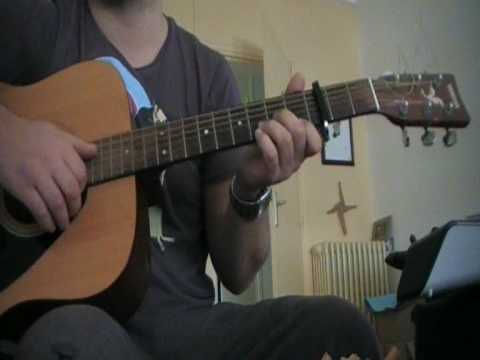 gaetan-roussel-help-myself-nous-ne-faisons-que-passer-guitar-cover-therouvinho