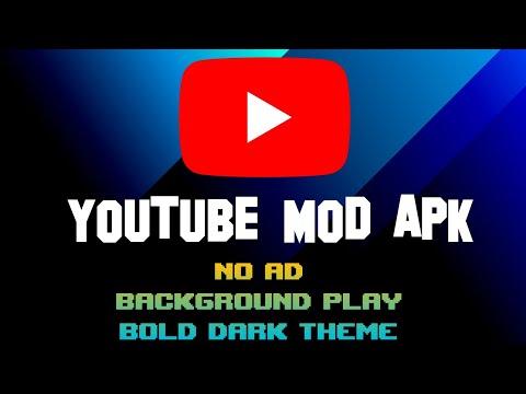 Youtube Mod Apk | No Ad, Play Background | Android | andromodhub
