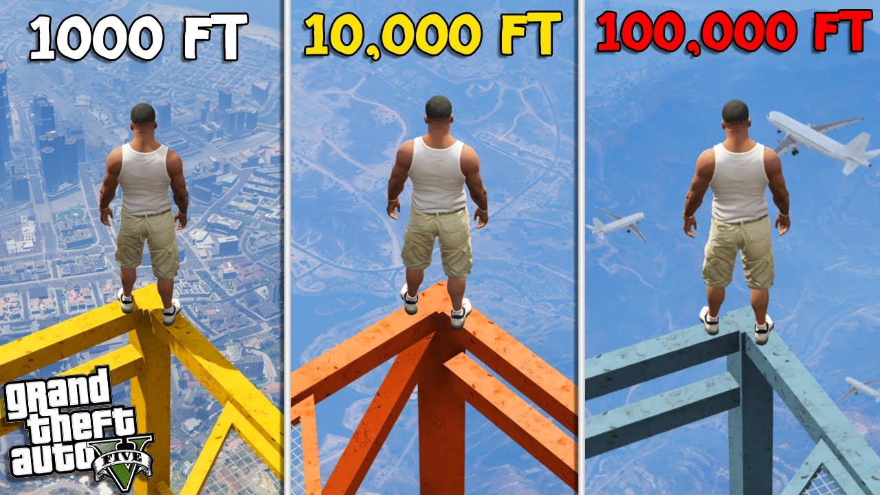 CLIMBING the TALLEST TOWERS in LOS SANTOS (GTA 5 Mods) thumbnail