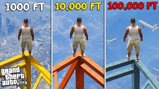 CLIMBING the TALLEST TOWERS in LOS SANTOS (GTA 5 Mods)