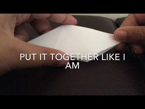 Origami Tutorial For Transforming Ninja Star