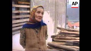 BOSNIA: GORAZDE IS LAST MOSLEM ENCLAVE LEFT IN EASTERN BOSNIA