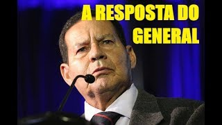 A Resposta Do General Mourão A Ciro